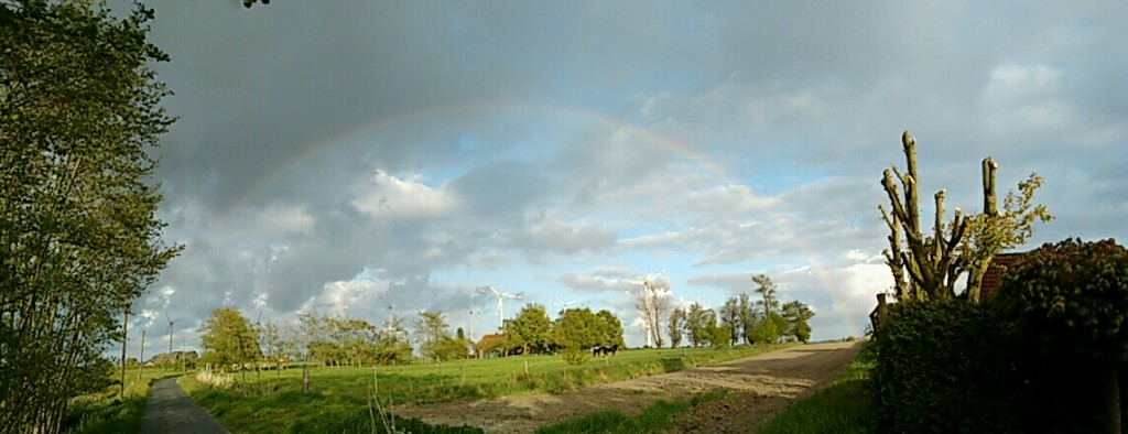 Regenbogen im Mai 2016