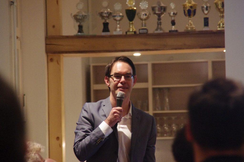Ortsvorsteher Henning Berna